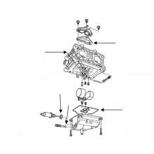 HONDA GCV520, GCV530 karburátor tömítés